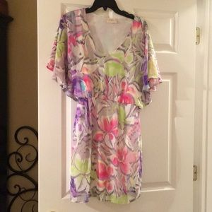 Multi colored summer dress